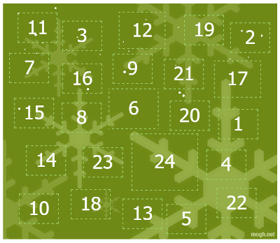 Mogh.net Adventskalender