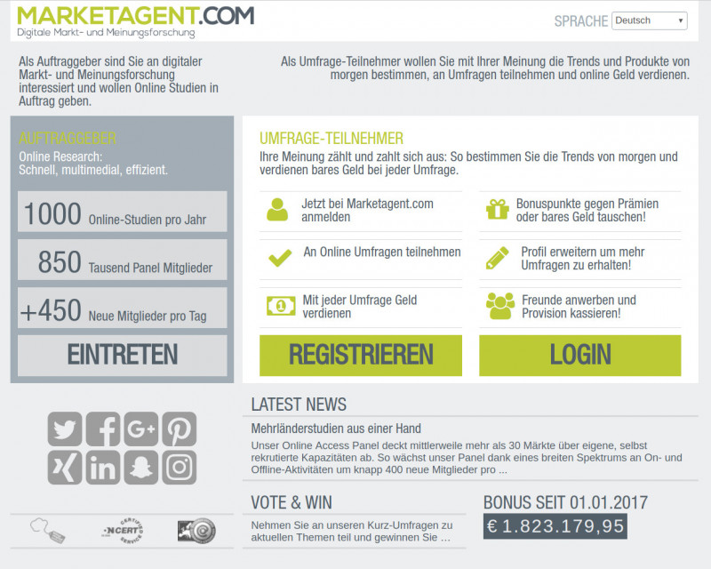 Marketagent Screenshot