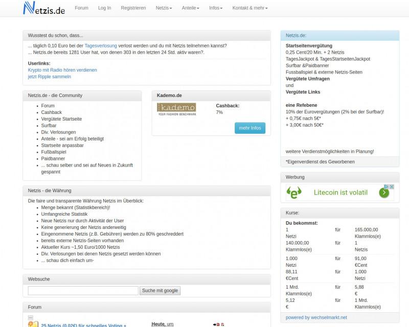 Netzis Screenshot