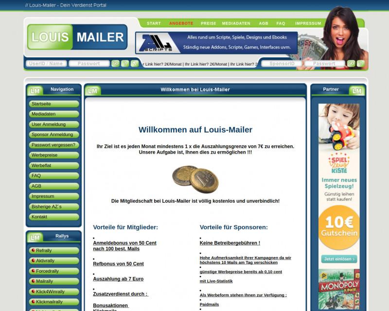 Louis-Mailer Screenshot