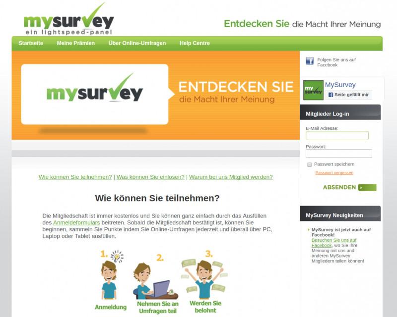 MySurvey Screenshot